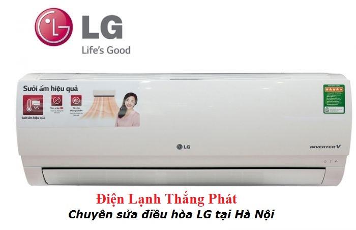 sửa chữa điều hòa LG