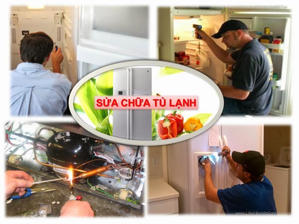 Địa chỉ sửa chữa tủ lạnh tại nhà giá rẻ